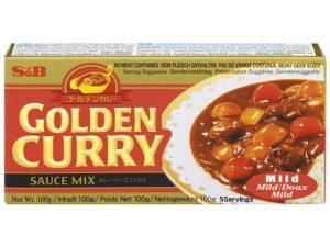 Cube de curry japonais doux - Golden Curry Image