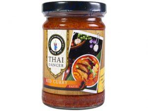 Pâtes de curry rouge 227g - Thai Dancer Image