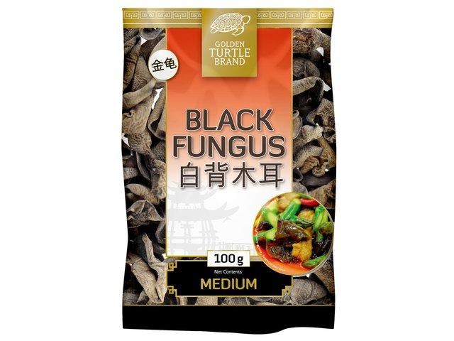 Champignons noirs déshydratés - Golden Turtle Image