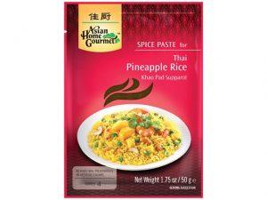 Pâte épicée pour riz aux ananas - Asian Gourmet Image