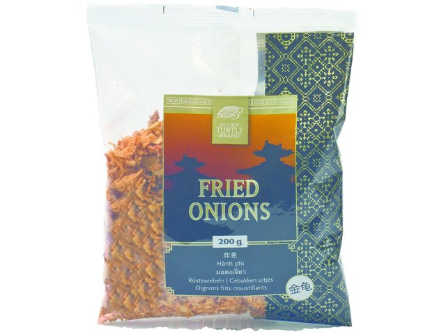 Oignons frits - Golden Turtle Image