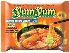 Nouilles instantanées au Tom Yum crème - Yum Yum Image