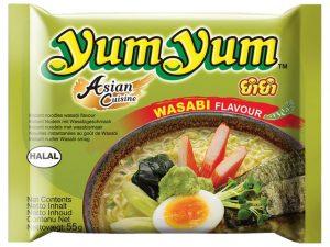 Nouilles instantanées au wasabi - Yum Yum Image