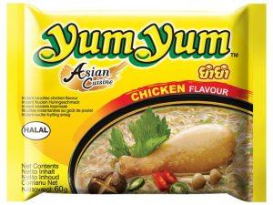 Nouilles instantanées au poulet - Yum Yum Image