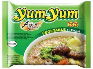 Nouilles instantanées aux légumes - Yum Yum Image