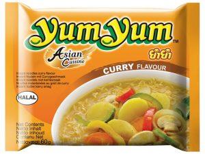 Nouilles instantanées au curry - Yum Yum Image