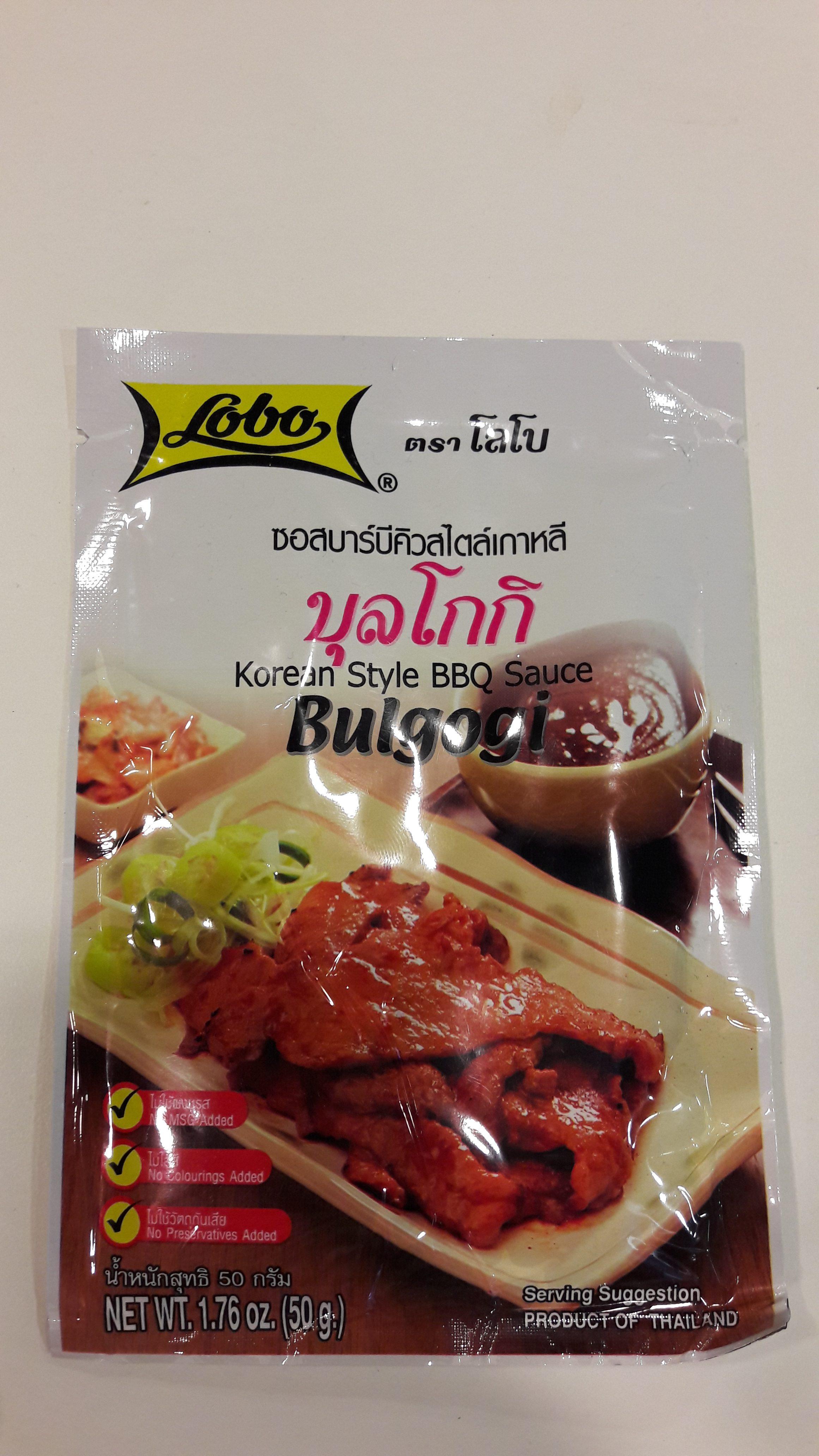 Pâte pour sauce Bulgogi Image