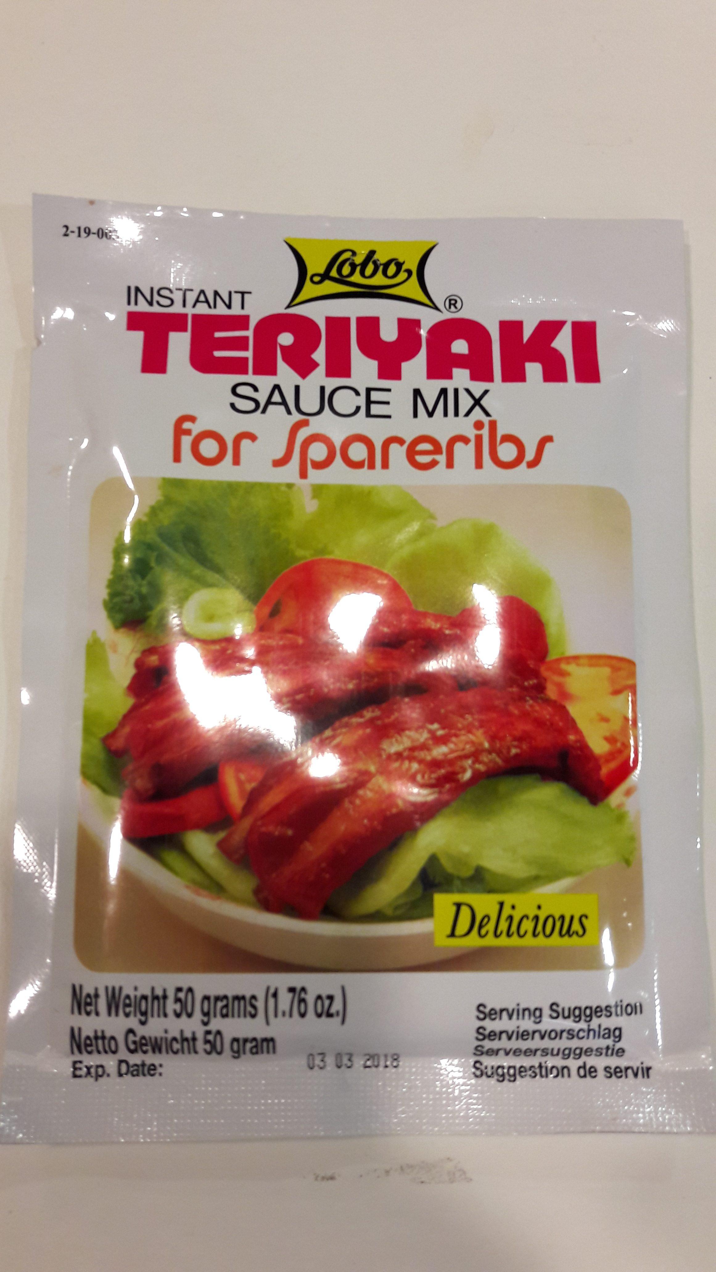 Pâte pour sauce Terryaki Image