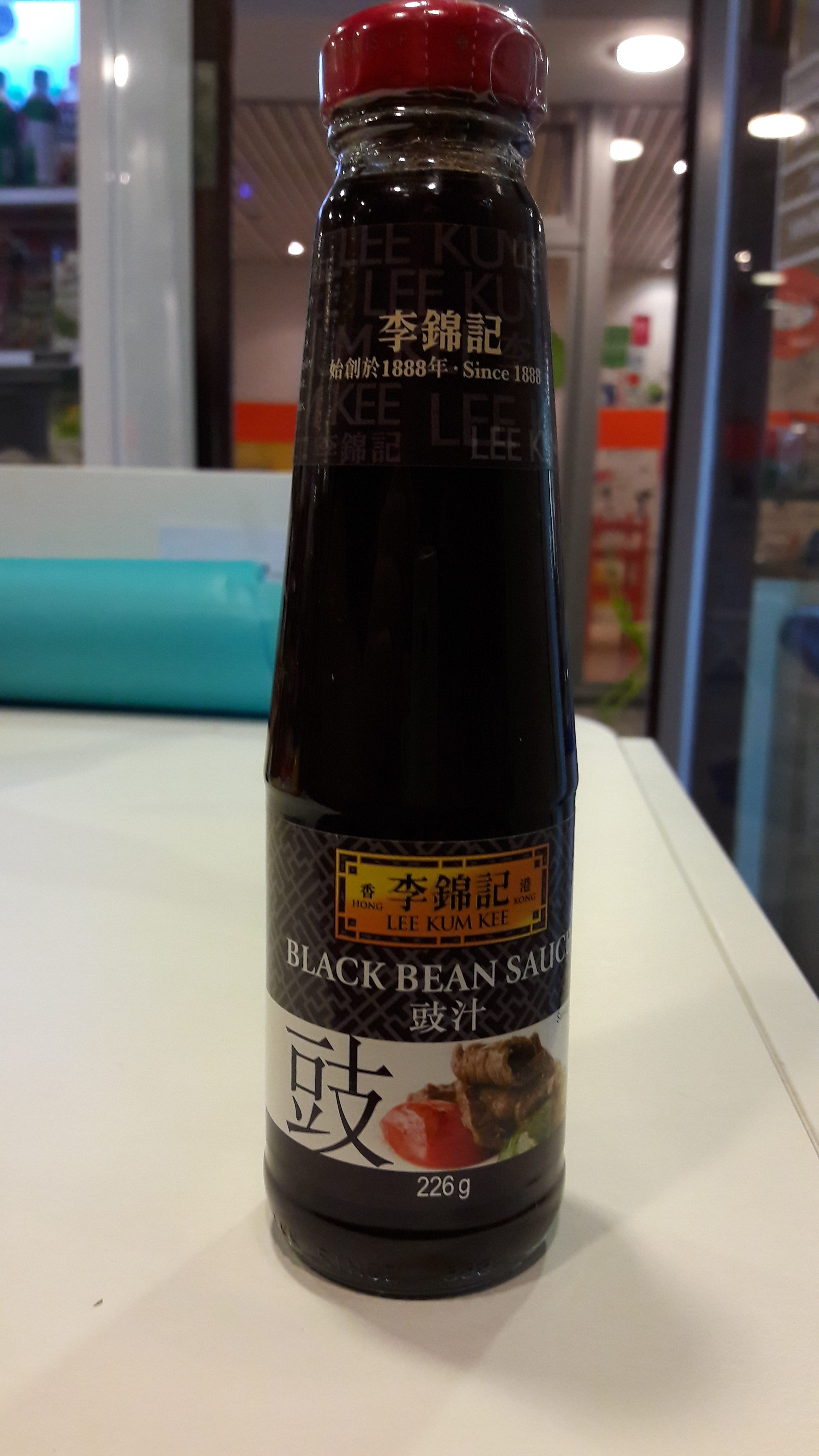 Sauce aux haricots noirs - Black Bean Sauce - 226g. - Lee Kum Kee(grand) Image