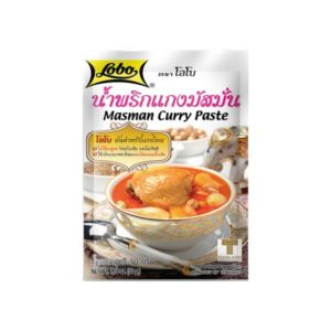 Pâte de curry Masaman - 50 gr - LOBO Image