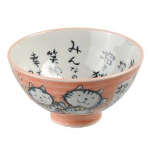 Bol à riz - motifs et couleurs divers (surtout des chats) Image