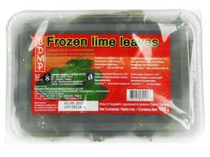 Feuilles de lime congelées Image