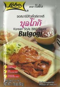 Sauce barbecue coréenne Bulgogo - LOBO Image