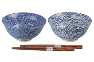 Set de deux bols et de deux paires de baguettes - bis Image