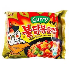 Nouilles Curry hot chicken ramen Image