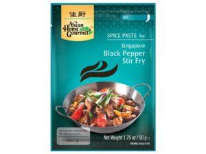 Pâte épicée Black Pepper Singapour - AHG Image