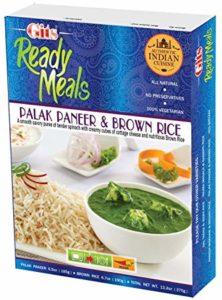 Palak Paneer et riz brun Image