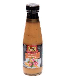 Peanut rice paper sauce Image
