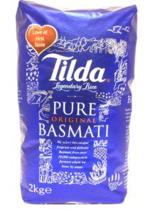 Riz basmati - TILDA - 2kg Image