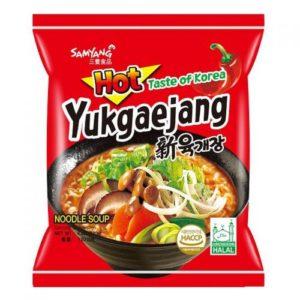 Nouilles Samyang Yukgaejang (hot mushroom) Image