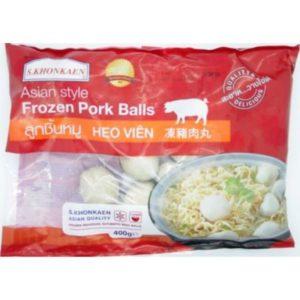 Boulettes de porc Image