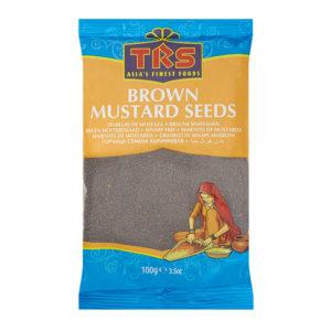 Grains de moutarde bruns TRS Image