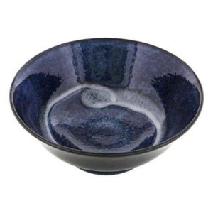 Grand bol ramen bleu Image